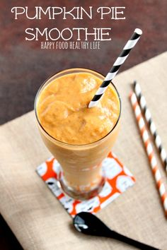 Pumpkin Pie Smoothie - Harvest Your Health - Happy Food, Healthy Life