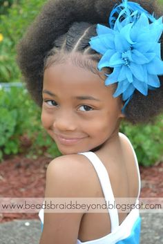 Easter Hairstyles for Little Girls With Natural Hair | Curly Nikki | Natural Hair Styles and Natural Hair Care