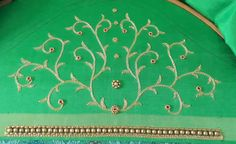 Simple Blouse Designs, Bridal Blouse Designs, Aari Work Blouse, Sleeve Designs, Projects To Try, Tutorials, Blouses, Models, Embroidery