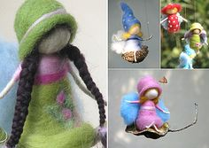 needlefelted fairies | regular readers will know we fairies in this house fairy willow moved ...