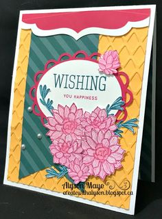 Wishing you Happiness card