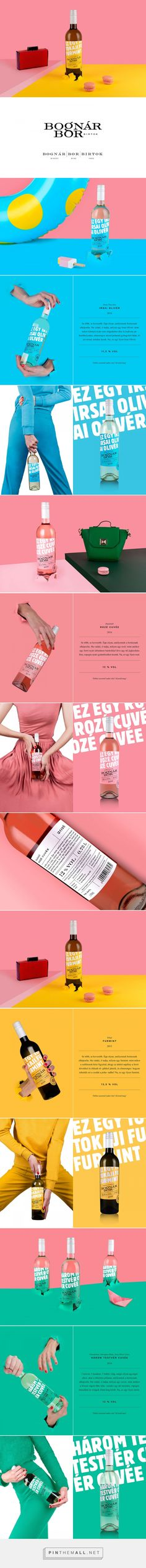 Bognár Bor Birtok wine packaging design by Kissmiklos - http://www.packagingoftheworld.com/2017/09/bognar-bor-birtok.html