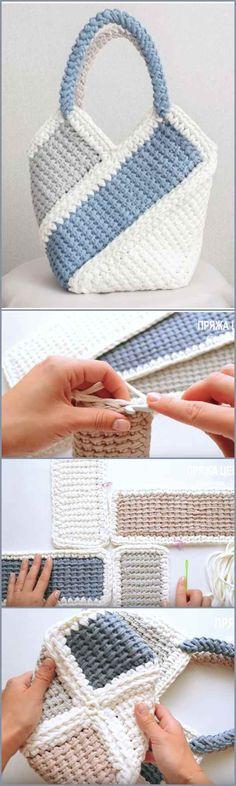 Breeze Shoulder Bag Free Crochet Tutorial : Breeze Bag Free Crochet Pattern Breeze Shoulder Bag Free Crochet Tutorial : Breeze Bag Free Crochet Pattern Breeze Shoulder Bag Free C Crochet Camera, Crochet Tote, Crochet Handbags, Crochet Purses, Crochet Crafts, Crochet Stitches, Crochet Projects, Free Crochet, Knit Crochet