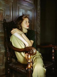"""Lauren Bacall. """"You know how to whistle, don't you? Just put your lips together and blow."""""""