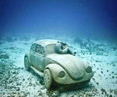 Museo subacuático de Cancún