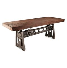 Gerrit-Industrial-Style-Rustic-Pine-Iron-Dining-Table