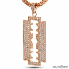 collier argent king ice