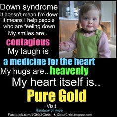 Super duper true! <3 #Downsyndrome