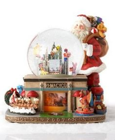 Amazon.com: Macy's 2007 Thanksgiving Day Parade Musical Waterglobe by MACY: Furniture & Decor
