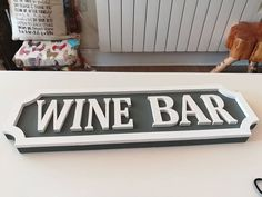 Alcoholic street signs are proving popular at the moment can also be personalised to display names or places Street Signs, Bar Signs, Bars For Home, Claire, Handmade Gifts, Alcohol, Stockings, Names, In This Moment