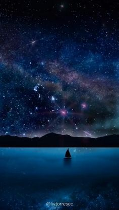 Night Sky Wallpaper, Wallpaper Space, Galaxy Wallpaper, Hd Wallpaper, Wallpaper Animes, Anime Scenery Wallpaper, Galaxy Painting, Galaxy Art, Pretty Wallpapers