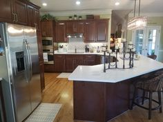 Kitchen Tune-Up Savannah Brunswick - Refacing plus Refacing Kitchen Cabinets, Cabinet Refacing, Countertop Options, Countertops, Beautiful Kitchens, Cool Kitchens, Cabinet Boxes, Drawer Fronts, Savannah