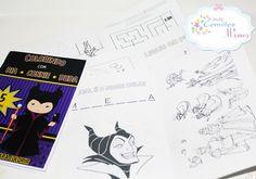 Livro para colorir e atividades <br> <br>Composto por 8 páginas, entre estas desenhos para colorir, atividades como labirinto,, descubra a palavra, ligue os pontos, etc... <br> <br>SOMENTE O LIVRO, NÃO ACOMPANHA O KIT E NEM SAQUINHO <br> <br> <br>Tamanho 14x21 <br>Capa em papel fotográfico de alta qualidade