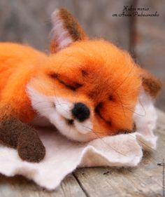 Купить Лисичка Сонечка. РЕЗЕРВ! - рыжий, оранжевый, лиса игрушка, лиса из шерсти, лиса, лисенок