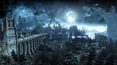 Dark Souls III: Ashes of Ariandel, Zamki, Most, Noc, Księżyc