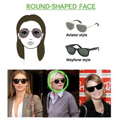 round shaped face frames glasses