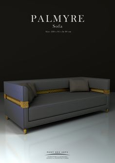 Palmyre Sofa - Pont des Arts Studio - Designer Monzer Hammoud - Paris- Diy Furniture Videos, Cube Furniture, Luxury Furniture, Furniture Design, Modern Sofa Designs, Beautiful Sofas, Settee Sofa, Sofa Seats, Sofa Upholstery