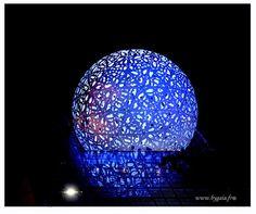 Photo spère bleue - sphère bleue futuroscope - GEO communauté photo