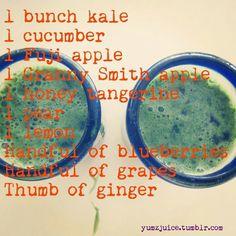 Kale Cucumber Ginger Juice