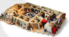 Star wars MOC Cantina by marvelousRoland, via Flickr