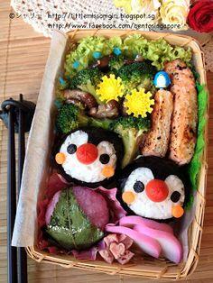 Bento Singapore by Shirley 楽しくてお弁当とキャラベン: Penguin