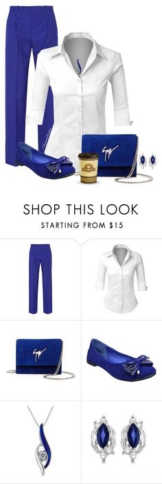 """CASUAL FRIDAY"" by arjanadesign ❤ liked on Polyvore featuring Jonathan Saunders, LE3NO, Giuseppe Zanotti, Reeds Jewelers, Allurez, WorkWear, GiuseppeZanotti, jonathansaunders and le3no"