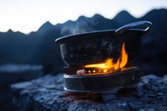 kettle gas stove fire kitchen flame cooking