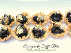 Escargot & Truffle Mini Bites