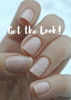 Seasonal nails, snowflake designs #ad, makeup tutorial, ideas, tips, fall, products, natural, looks, brushes, hacks, hair styles, cuts, color, bun braids, long, nail designs, acrylic, winter, gel, fall, coffin, 2017, organization, hackes, dupes, prom, for teens, wedding, everyday, eyeshadow, for beginners, diy, palette, drugstore, storage, lips, vanity, for blue eyes, contour, kylie jenner, simple, christmas, bridal, face, glitter