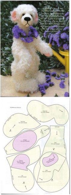 Gallery.ru / Фото #1 - Выкройки текстильной игрушки 2 - Flora-Flora