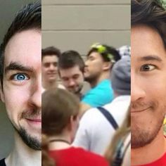 SEPTIPLIER AWAY! | We Heart It | jacksepticeye, markiplier, and ...