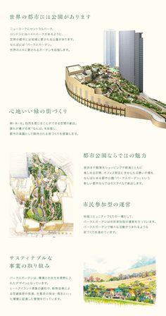 Namba Parks, Osaka Green Architecture, Japanese Architecture, Futuristic Architecture, Architecture Design, Architecture Presentation Board, Presentation Layout, Graphic Design Layouts, Layout Design, Urban Landscape