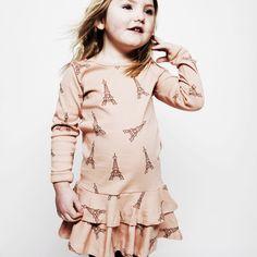 Eiffel Tower Dress / Mini Rodini
