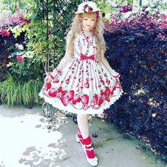 "484 Me gusta, 2 comentarios - www.devilInspired.com (@devilinspiredofficial) en Instagram: ""Sooo cute! @lovebirds0608 Love your coord.  #devilinspired #sweetlolita #summer #lolita…"""