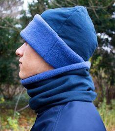 Kostenfreie Nähanleitung Schal und Mütze für Männer nähen - Ideal als Weihnachtsgeschenk Winter Hats, Exercise, Couture, Knitting, Highlights, Fashion, Caps Hats, Amigurumi, Man Scarf