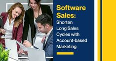 Software Sales: Shorten Long Sales Cycles with Account-based Marketing Digital Marketing Business, Event Marketing, Digital Marketing Services, Marketing Plan, Sales And Marketing, Mobile Marketing, Marketing Strategies, Marketing Automation, Inbound Marketing