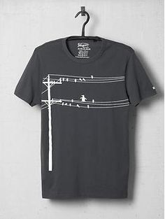 Original Penguin Wire Bird Tee Shirt | Piperlime