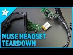 Inside the Muse | Muse Headset Teardown | Adafruit Learning System