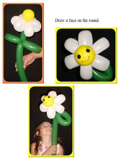 Learn To Make: Happy Flower