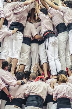 Diada Castellera de la Mercè. Barcelona, | por EnricAndDestroy Barcelona, Effort, Horror, Hands, Culture, Photos, Photography, Life, Fashion