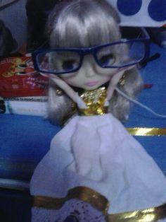 Nefertiti con mis gafas