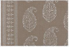 Textile Details: Kashmir Paisley   Peter Dunham Textiles