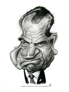 Richard Nixon by Ernesto Preigo