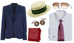 Must haves for a complete Gatsby look. #mensfashion #menswear #menstyle #TRGent