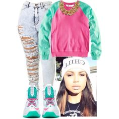 Chill Out, created by fashionablythick on Polyvore