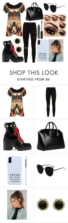"""Sin título #4381"" by onedirection-h1n1l2z1 on Polyvore featuring Belleza, WearAll, Gucci, Givenchy, NA-KD y NYX"