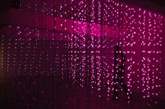 8,000 Lights Form a Mind-Boggling Interactive Space - My Modern Metropolis