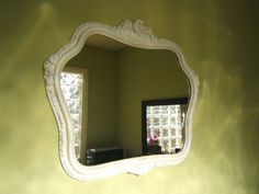 Vintage Mirror Shabby Chic  Free Shipping by antique2chic on Etsy, $75.00