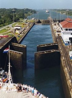 Panama Canal  Been through here...Wow!