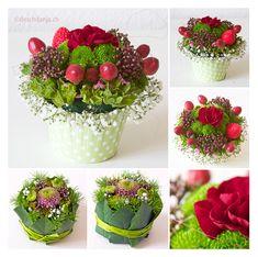 Floral Cupcakes, www.deschdanja.ch